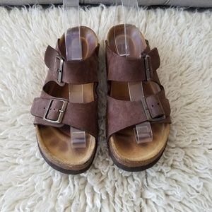 Hush Puppies Footbed Sandals, 7?